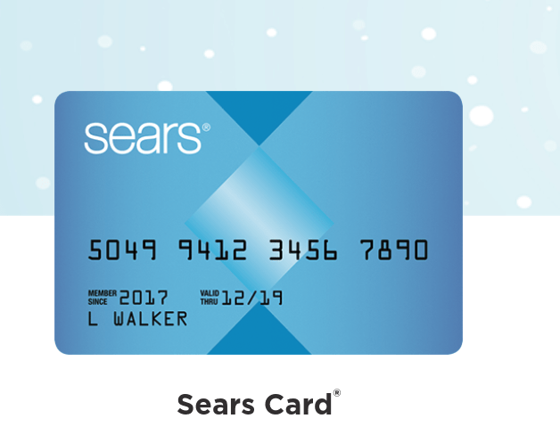 how activate sears card online