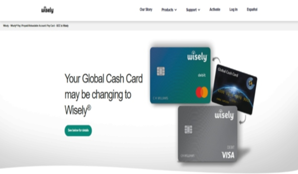 global cash card wisely